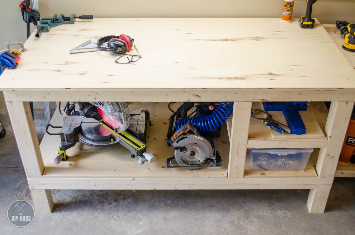 Free Workbench Plans - The DIY Hubs