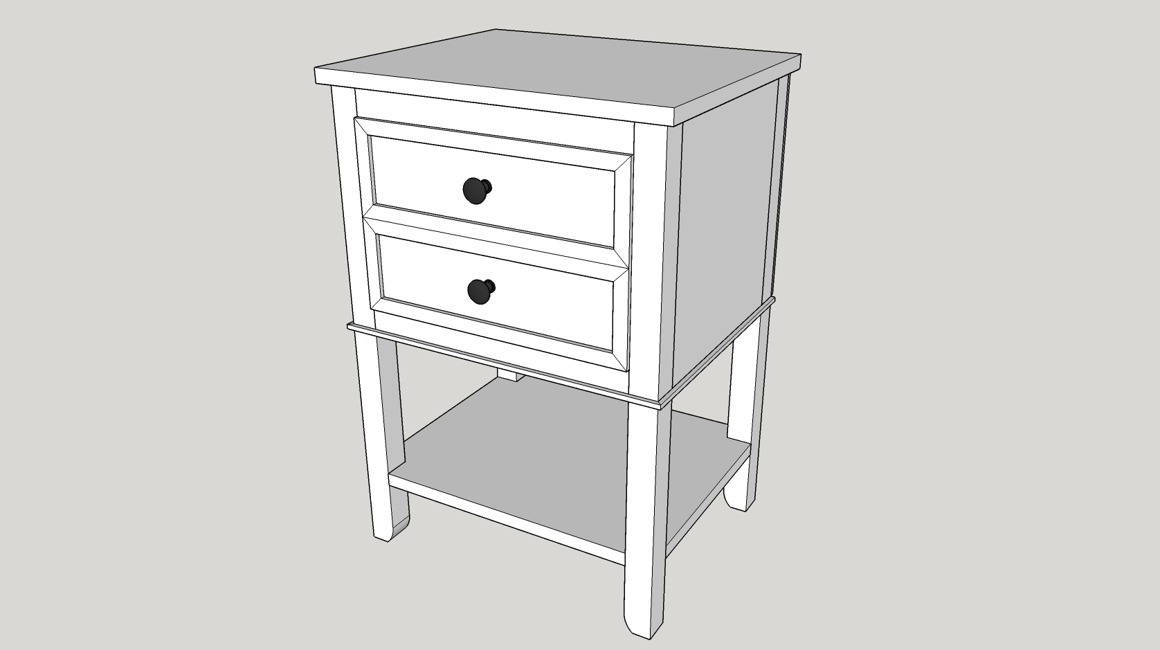 Free End Table Plans The DIY Hubs - End table with drawer plans